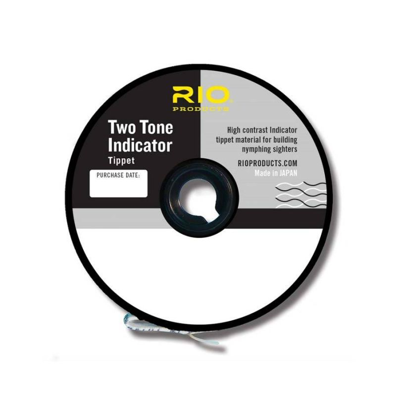 TWO TONE INDICATOR TIPPET - BALCK-WHITE RIO - 1