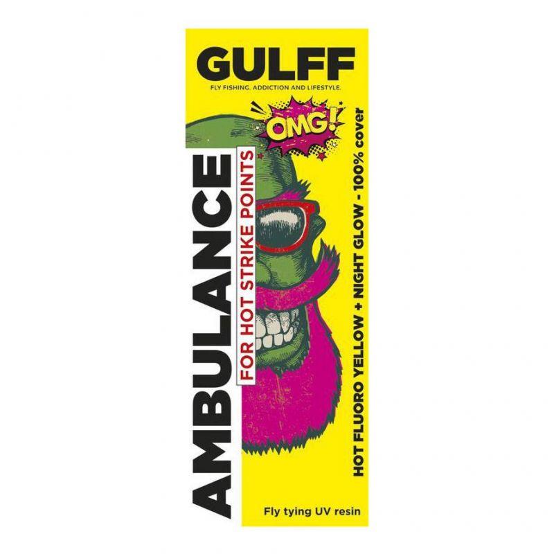 GULFF UV RESIN HOT YELLOW 15ml GULFF - 1