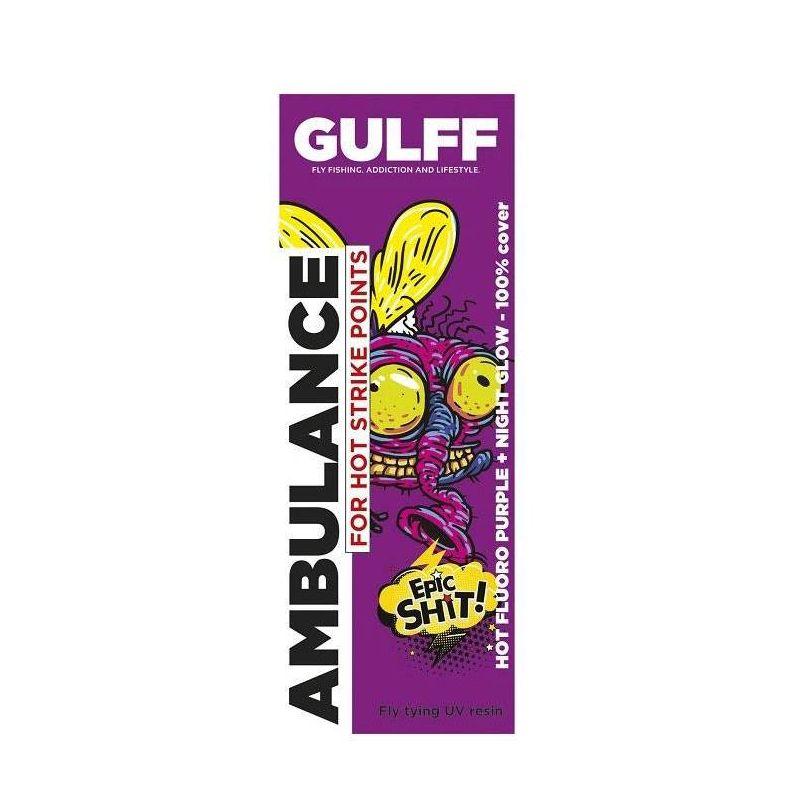 GULFF UV RESIN PURPLE 15ml GULFF - 1
