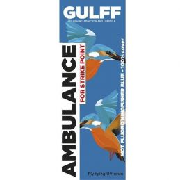 GULFF UV RESIN HOT KINGFISHER BLUE 15ml GULFF - 1